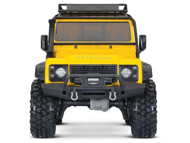 Traxxas TRX82056-4-YLW TRX-4 Land Rover Defender 110 - Yellow Limited Edition